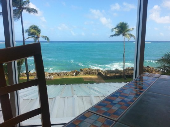 The Condado Plaza Hilton: View from Cafe Caribe