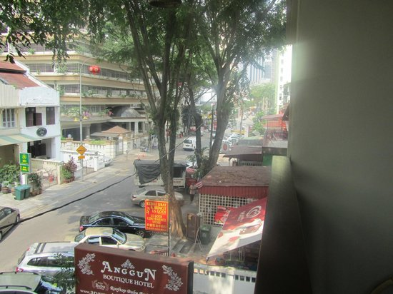 Anggun Boutique Hotel : View from balcony