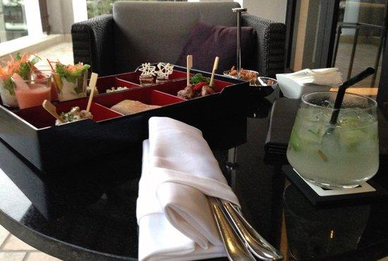 Le Meridien Chiang Rai Resort: Latitude 19 (Lobby Bar) / SPG Platinum Amenity