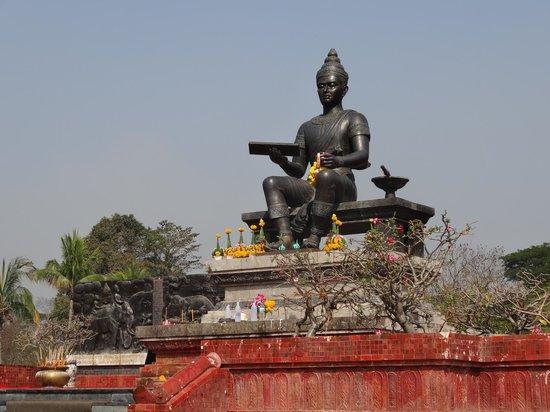 King Ram Khamhaeng Monument : Le roi