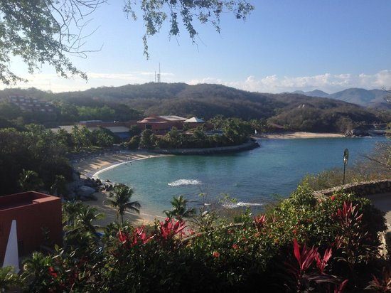 Las Brisas Huatulco: The beaches from the Mar area
