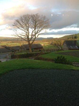 Trewythen Lodges: view
