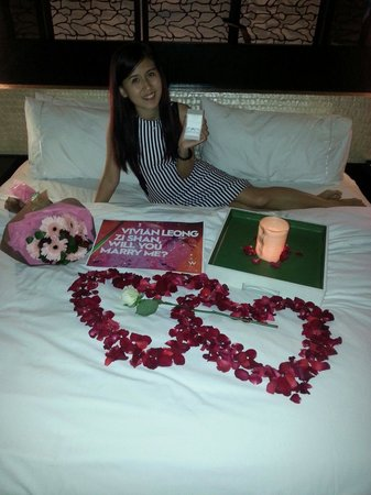 W Bali - Seminyak : She said 'YES' in surprisingly! Credit thanks to Dino, Rika and the W Insider Team!
