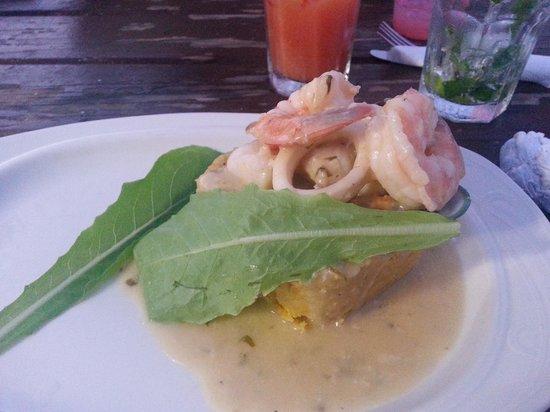 Waikiki : Seafood Mofungo
