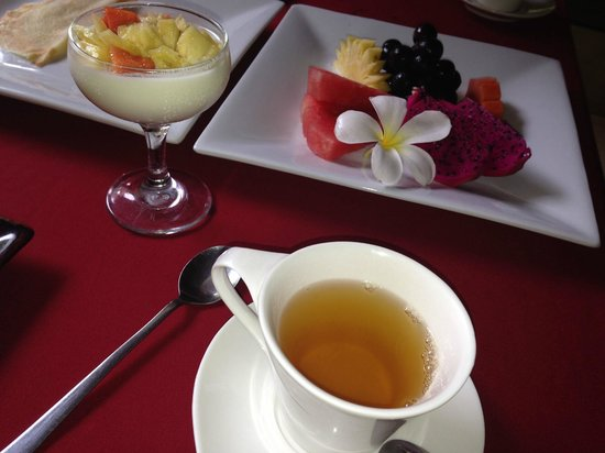 La Villa Mathis : Petit déjeuner à volonté le matin :)