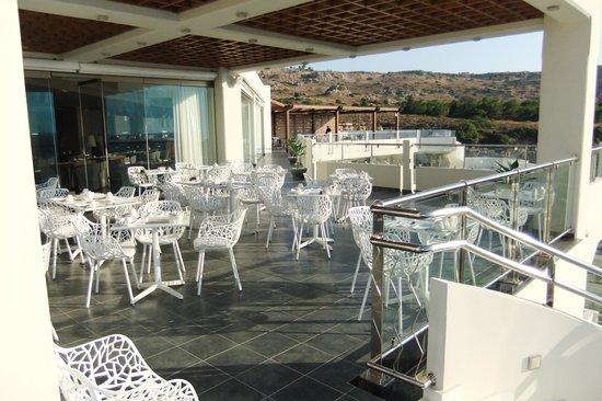 Elysium Resort & Spa: ресторан элит клаб на крыше