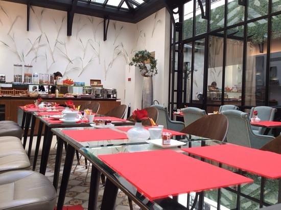 Hôtel Joyce - Astotel : the braekfast