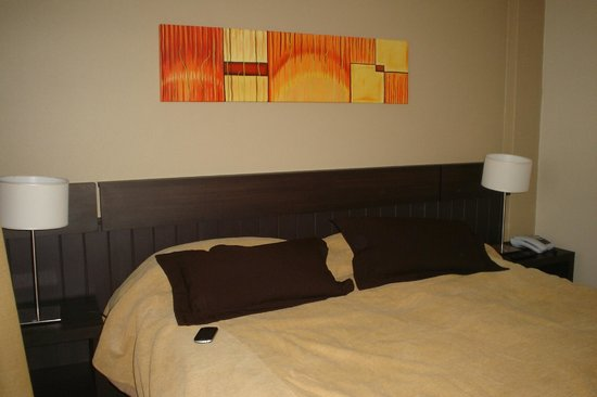 Carlos V Hotel San Carlos Bariloche : Habitación