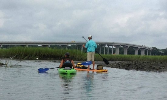 J L Kayaks Llc Kayak Tours And Als Sunset Beach Bridge From Tubbs