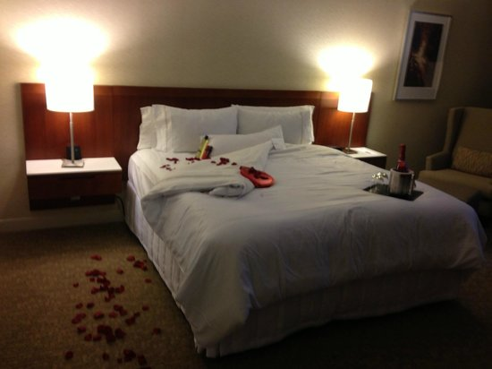 Westin Galleria Houston Hotel: Valentine's day surprise!