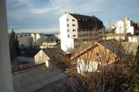 Carlos V Hotel San Carlos Bariloche : Vista de Bariloche desde el Hotel