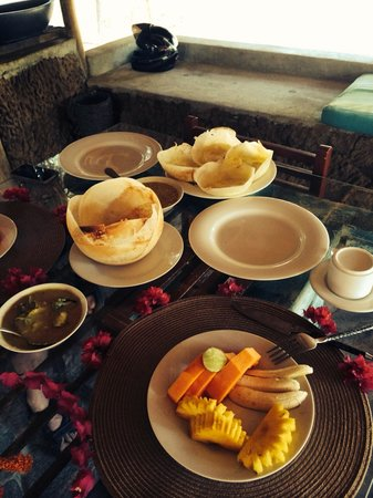 Saraii Village: Special breakfast!