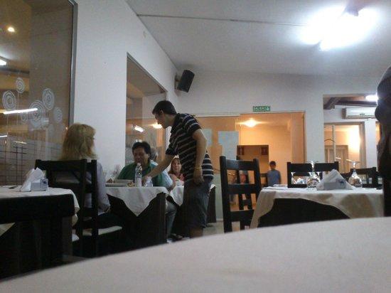 Piazza Hotel: dentro del comedor