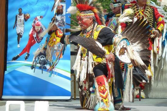 Regina, Canada: First Nations Dancer