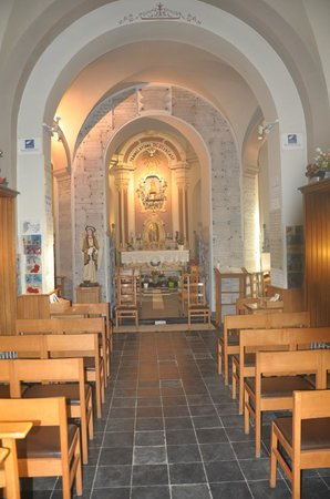 Geraardsbergen, Belgium: Chapel on the inside.