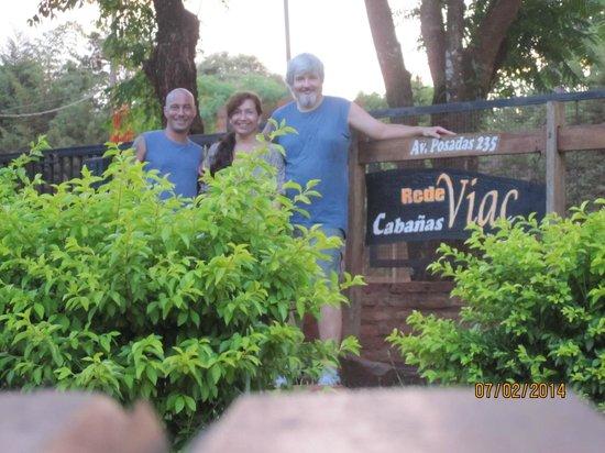 Cabanas RedeViac : amigos