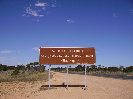 Nullarbor Links: the start of the 90 mile highway