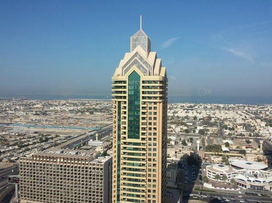 Dusit  Thani Dubai : View from 33rd Floor