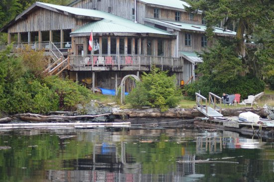 Hidden Cove Lodge: View from the jetty