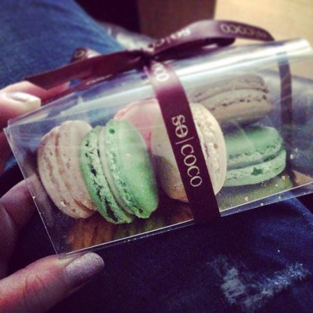 So coco: The macaroons