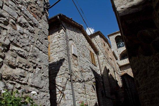 Acqualoreto, Italy: campanile medievale