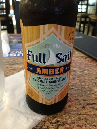 Lobster Lady Seafood Market & Bistro : Full Sail Beer -