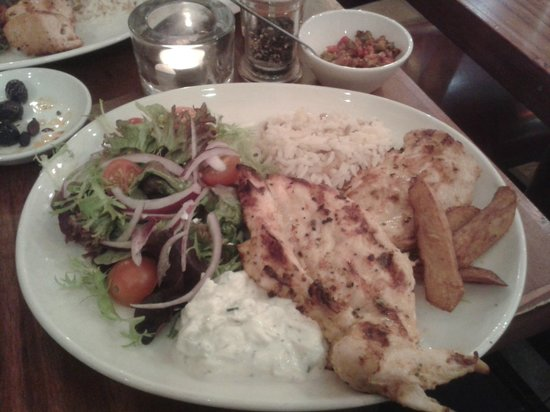 Grand Bazaar: My delicious grilled chicken plate