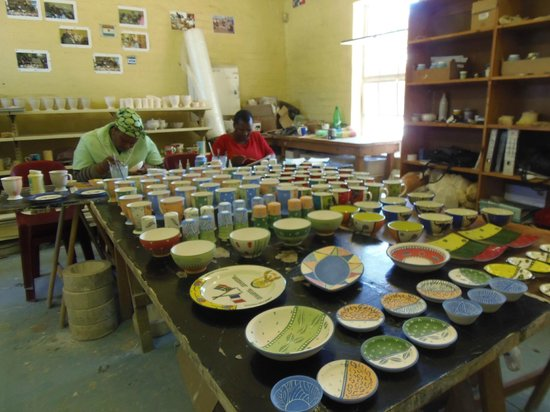 Vamos Township Tours: Arts and Crafts Visitor Center in Langa
