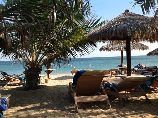 Le Meridien Al Aqah Beach Resort : spiaggia resort le meridien