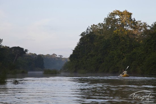 Tongole Wilderness Lodge: Canoe down the Bua river with one of our trained guides