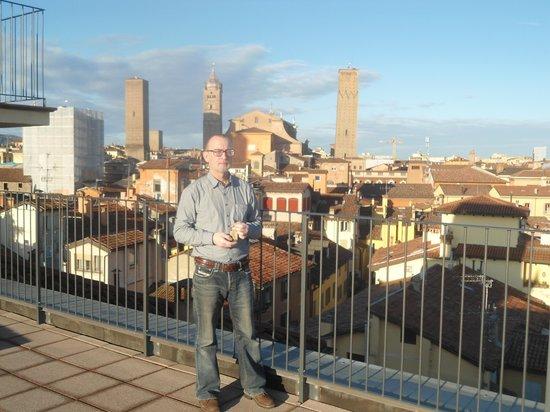 Best Western Hotel San Donato: Вид с обзорной площадки гостиницы