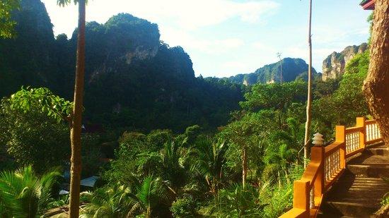 Diamond Private Resort: вид с балкона