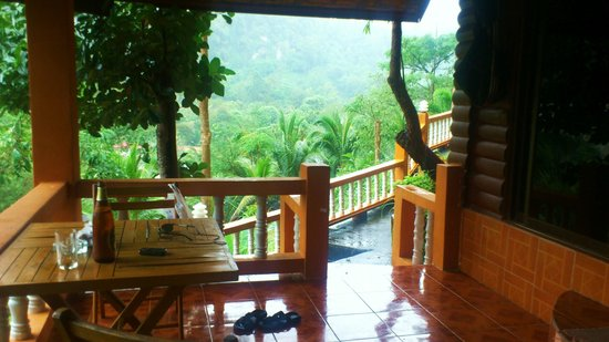 Diamond Private Resort: балкон