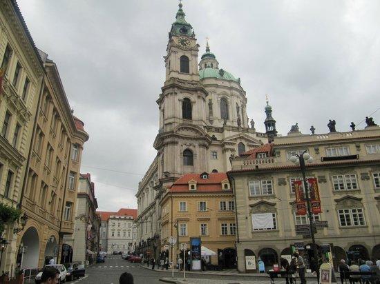St.-Nikolaus-Kirche (Kostel sv. Mikuláše): церковь
