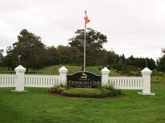 The entrance of The Links at Crowbush Cove