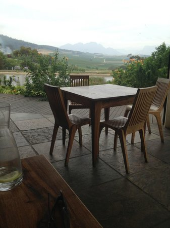 Jordan Wine Estate: View