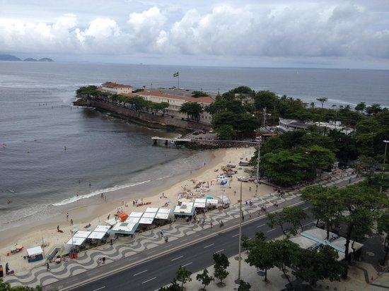 Orla Copacabana Hotel: Vista da piscina