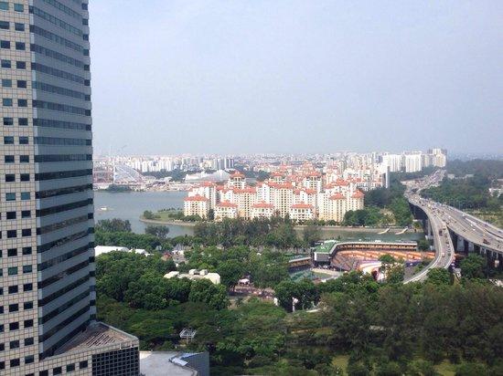Conrad Hong Kong : View from room