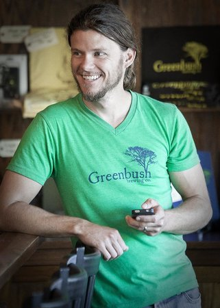 Greenbush Brewing Company: Merchandise available at