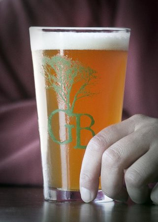 Greenbush Brewing Company: Beer available in pints