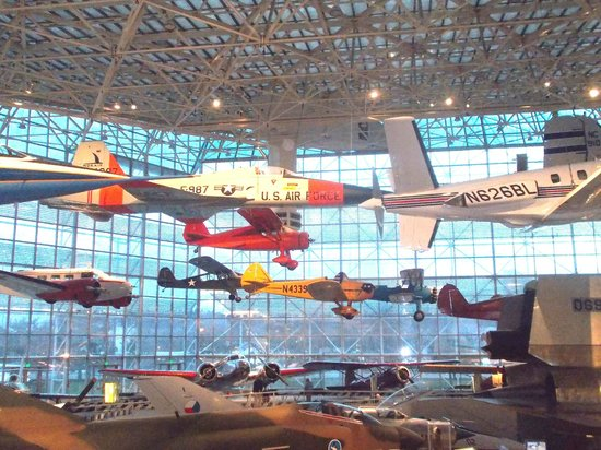 The Museum of Flight : Above the clouds