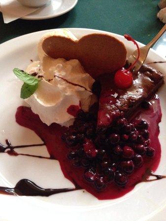Pod Wawelem : Special valentine dessert