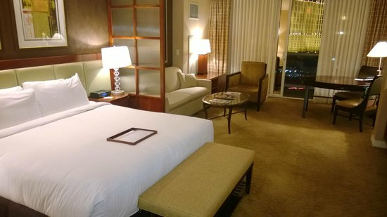 Signature at MGM Grand: View of the room