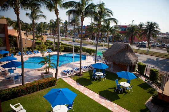 Hotel Jaragua: Palapa