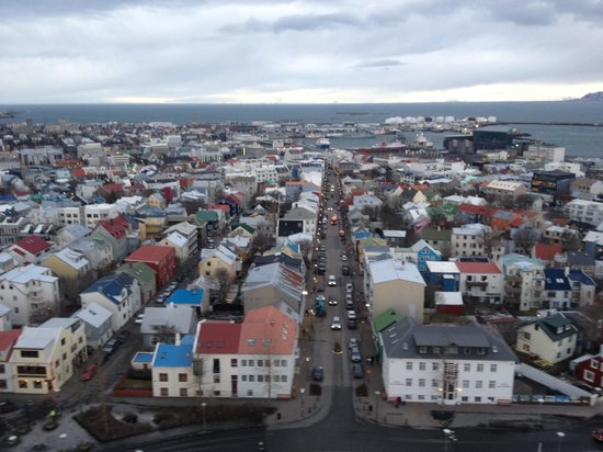 Icelandair Hotel Reykjavik Marina: View of the colorful rooftops