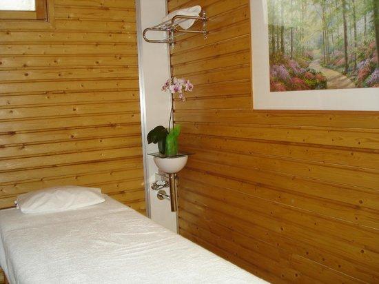 Salut l'Om Hotel: Sala masajes