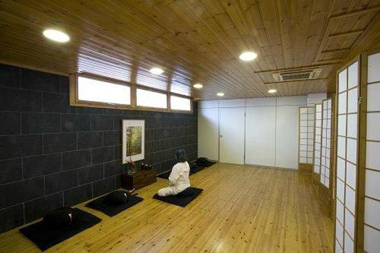 Salut l'Om Hotel: Sala meditación