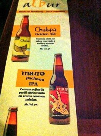 Club de la Cerveza: AlBur beers