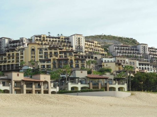 Pueblo Bonito Sunset Beach: Looking back from the ocean