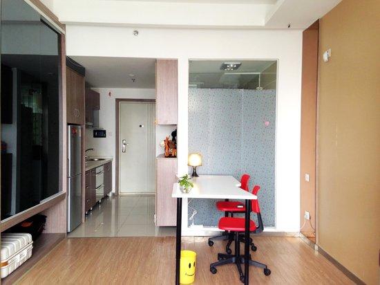 Chengdu Panda Apartment: their reception